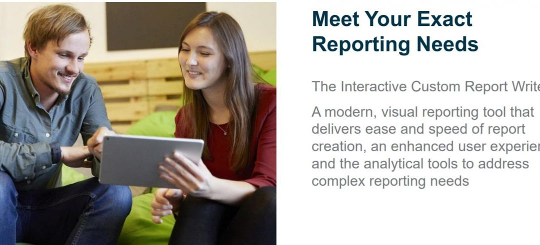 Let's Get Visual with the Interactive Custom Report Writer
